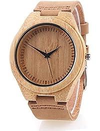 bd1fd40f9485 Reloj de Madera de Bambú para Mujer