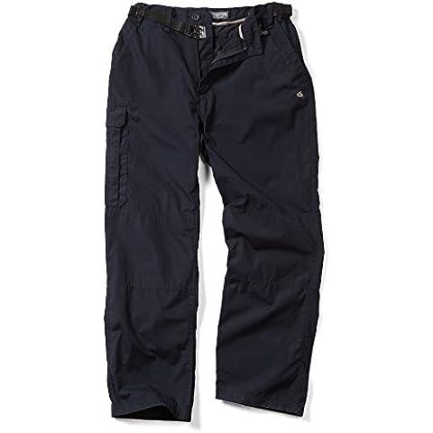 Craghoppers Clásico Kiwi Hombre Pantalones De Senderismo - Azul Marino Oscuro, 30 (76.2cm) -