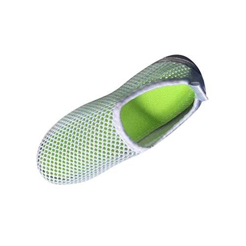 Dorical Unisex Babyschuhe Kinder Sommer Mesh Atmungsaktives Sportschuhe Jungen Mädchen Lauflernschuhe Freizeitschuhe Sneaker Krabbelschuhe mit Weiche Sohle Größe 21-38(Weiß-1,23 EU)