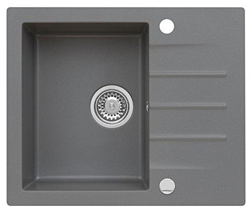 Mojito 20 Küchenspüle Axis Moonlight Grey Grau Axigran 45er Spülbecken Graue Einbauspüe Granit Kobalz Kitchen