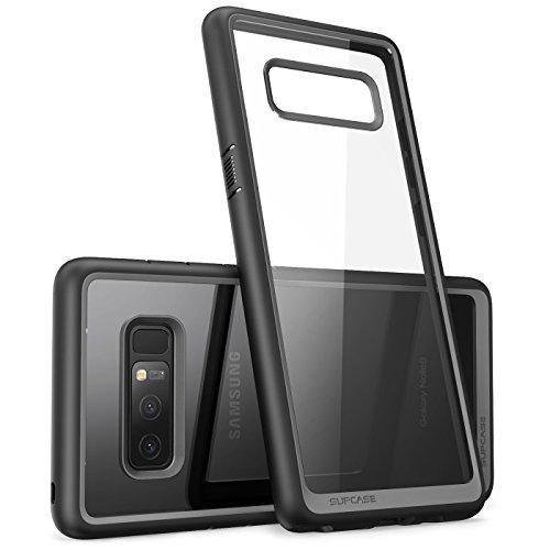 SUPCASE Samsung Galaxy Note 8 Hülle, [Unicorn Beetle Style Serie] Hybride Transparent Schutzhülle Kratzfest Handyhülle Case/Cover für Samsung Galaxy Note 8 (2017 Ausgabe) (Schwarz)