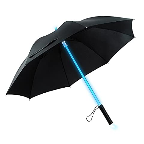 LED Lightsaber Umbrella Light Up With 7 colors and With