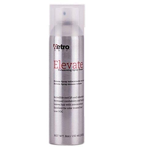 Retro Hair Elevate Aerosal Hairspray, 8 Fluid Ounce by Retro Hair