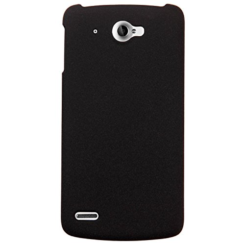 Heartly QuickSand Matte Finish Hybrid Flip Thin Hard Bumper Back Case Cover For Lenovo S920 - Bold Black  available at amazon for Rs.299