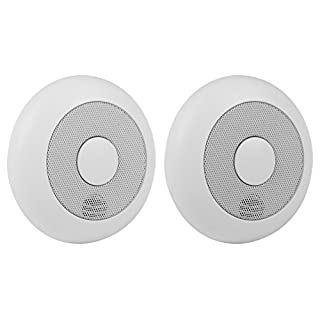 Smartwares 10.040.95 RM175RF/2 Smoke Detector – 85 dB – Batteries Included – Connectable, Set of 2 Pieces