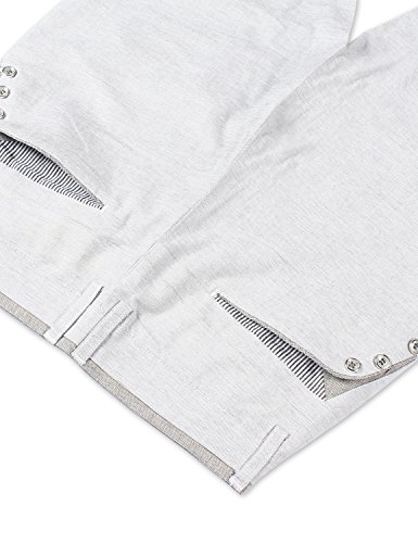 Demon&Hunter Homme Coton Doux Chinos Pantalons DH8323 DH8323-2 x Gris clair