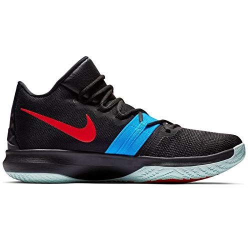 Nike Herren Kyrie Flytrap Basketballschuhe Schwarz (Black/Blue Hero-University Red 002) 44.5 EU