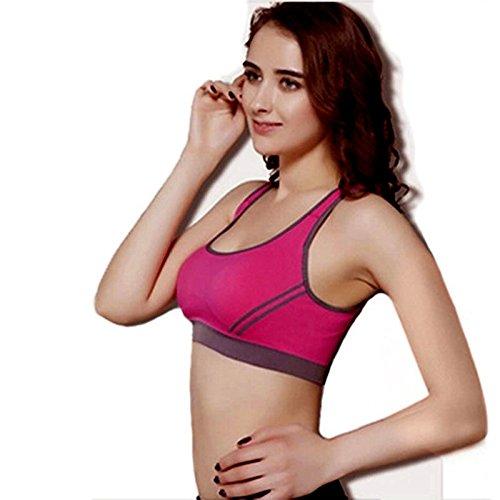 Sport BH HARRYSTORE Mujer sosténes deportivas y elástico de yoga Rop