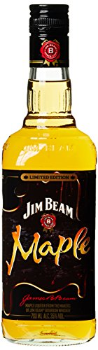 Jim Beam Maple Limited Edition Whiskey-Likör (1 x 0.7 l)