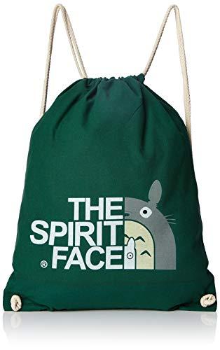 TEXLAB The Spirit Face - Turnbeutel, dunkelgrün -