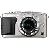 Olympus PEN E-PL5 Systemkamera (16 Megapixel, 7,6 cm (3 Zoll) Touchscreen, bildstabilisiert) Kit inkl. 14-42mm Objekitv silber