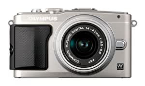 Olympus Pen E-PL5 Compact System Camera - Silver (16.1 MP, M.ZUIKO Digital 14 -42mm II R Lens Kit) 3 inch LCD