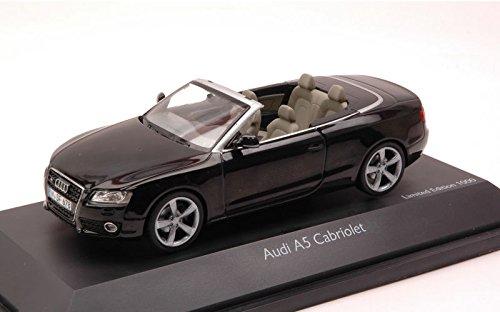 AUDI A5 CABRIO BLACK 1:43 Schuco Auto Stradali modello modellino die cast - Audi A5 Cabrio