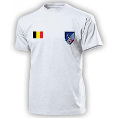Belgian 9th Operations Group Belgien Groupe des opérations 9e belge Belgische Armee Raketen Wappen Abzeichen Emblem - T Shirt Herren XL #15657