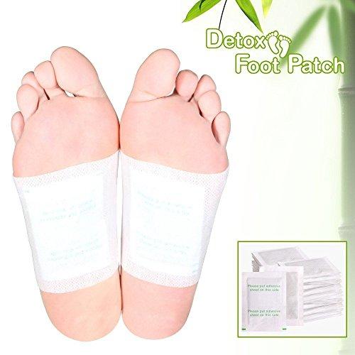 Fuß-pad, Die Giftstoffe Entfernen (Home Care Wholesale Entgiftung-Füße-Flecken (Detox Foot Pads) um Giftstoffe aus dem Körper zu entgiften - 50 Stück-Packung)