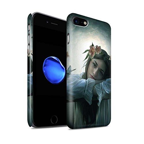 Officiel Elena Dudina Coque / Clipser Matte Etui pour Apple iPhone 7 / Balançoire Étang Design / Un avec la Nature Collection Rêveur