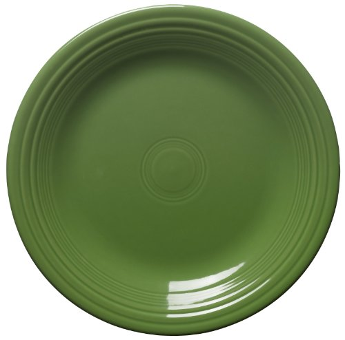 Fiesta 10-1/2-Inch Dinner Plate, Shamrock by Homer Laughlin (Shamrock Geschirr Fiesta)