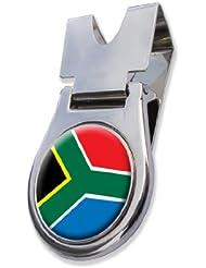 Südafrika Gürtelclip und magnetischer Golf Ball Marker by ASBRI GOLF