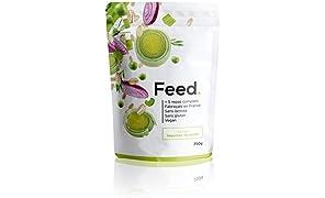 Feed. Original 5 Meal Bag Garden Vegetables - Complete Meal - 100% Vegan - Lactose-Free - Gluten-Free - GMO-Free - 750g