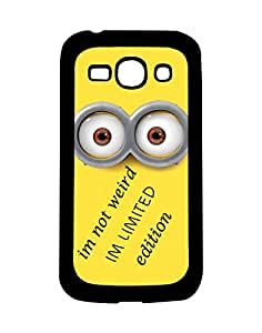 Mobifry Back case cover for Samsung Galaxy Ace 3 Mobile ( Printed design)