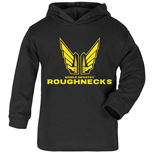 Cloud City 7 Mobile Infantry Roughnecks Starship Troopers Baby and Kids Hooded Sweatshirt