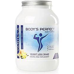 XXL Weight loss shake para hombres | Efectivamente perder peso y definir | Clínicamente probado | reemplazo de la comida y proteína en polvo en uno | 1.2 kg | BODY'S PERFECT