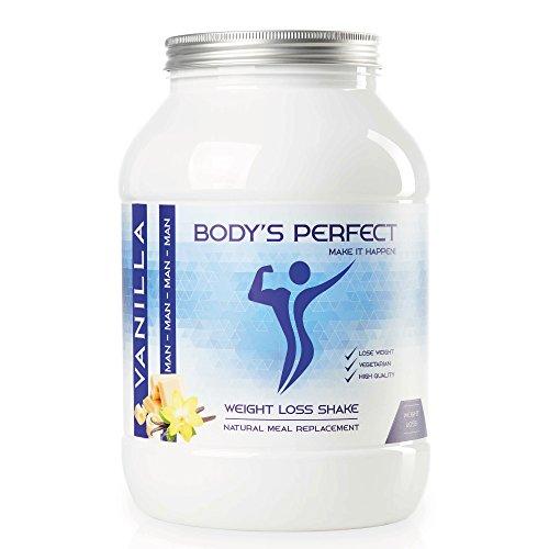 Body's perfect - weight loss shake | proteine shake | pasti sostitutivi | diminuire per gli uomini (vaniglia)