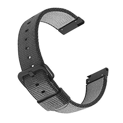 SIKAI Universal 22mm Nylon Uhrenarmband für Galaxy Watch 46mm / Gear S3 Frontier/Gear S3 Classic Armband Erstatzband Uhr Band für Ticwatch Pro Ersatzband MEHRWEG - Nylon-loop-uhr-band 22mm