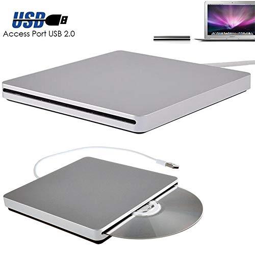 ChengShun USB Externes CD DVD Rom RW Laufwerk Rekorder für MacBook Air Pro für iMac für Mac Win8 Laptop Laptop