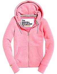 Superdry Women's Orange Label Primary Ziphood Sports Hoodie