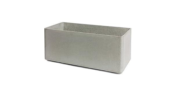 Eternit - Delta Pflanzgefäß 60 x 55 x 80 cm, grau: Amazon.de: Küche ...