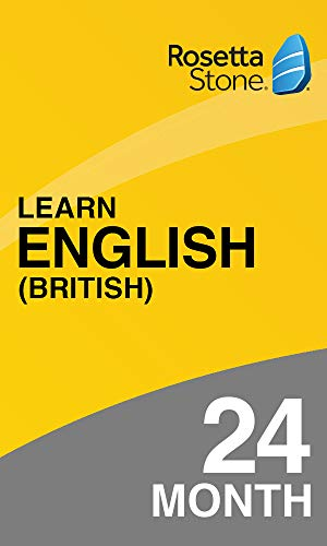 Rosetta Stone: Learn English (British) for 24 months on iOS, Android, PC, and Mac|Personal|1 User, multiple devices|24 Months|PC/Mac/Smartphone|Download|Download (Rosetta Stone Pc)