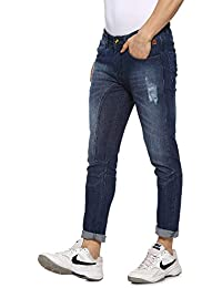 Campus Sutra Men Cut and Sew Denim Jeans