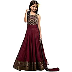 S R Fashion Newly launch Multi-Coloured Lehenga Choli For Girls (8-11 Years)(RPKC)