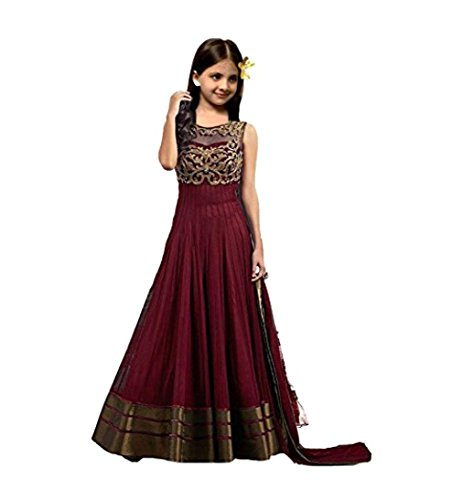 S R Fashion Newly launch Multi-Coloured Lehenga Choli For Girls (8-11 Years)(RPKC)