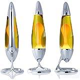 Mathmos Lampada di Lava Neo ideata sia per adulti che per bambini disponibile nei colori Giallo / Arancio