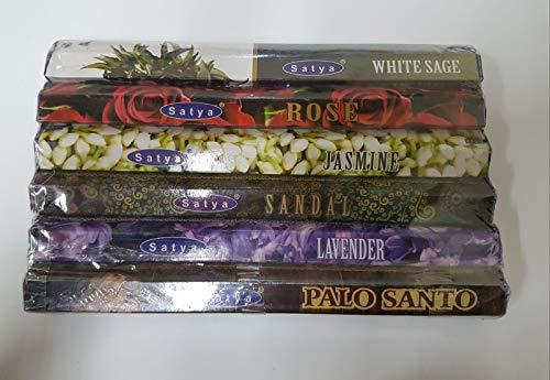 Satya - Varillas de Incienso 6 Unidades