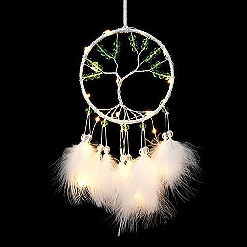 KANKOO Traumfänger Traumfänger Für Wohnkultur Mädchen Dream Catcher Deckendekor Weihnachten Event Dekorativ Circular Durchbrochener Ornament Craft Hochzeit