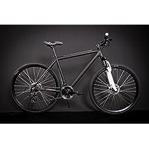 '28pulgadas Aluminio MTB Crosser bicicleta bicicleta eléctrica 21velocidades Shimano freno Disc Black
