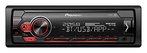 Pioneer Mvh-s310bt Autoradio MP3stéréo de voiture avec Bluetooth USB entrée auxiliaire Compatible Android et iPhone