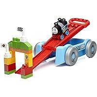 Mega Bloks DXH57 Thomas Racin Railway Wagon Playset