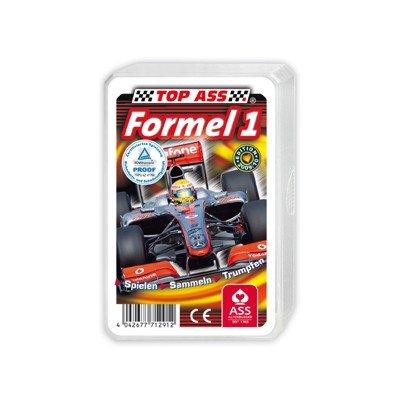 Preisvergleich Produktbild ASS Altenburger Spielkarten 22571291 - ASS Altenburger - TOP ASS Quartett Formel 1