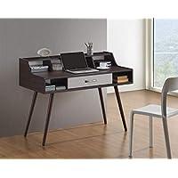 Maison Concept OF 6831 Wooden Desk, Brown & White - H 600 mm x W 600 mm x D 1200 mm