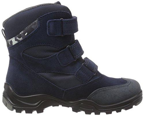 Ecco Ecco Xpedition Kids, Bottes de neige de hauteur moyenne, doublure chaude garçon Bleu - Blau (Marine/Marine)