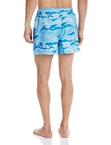 Reebok BW Camo Boxer Short de bain pour homme Azul (Bluspo)