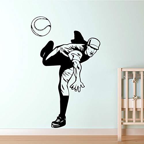 SLQUIET DIY Volleyball Player Wall Art Decal Sticker