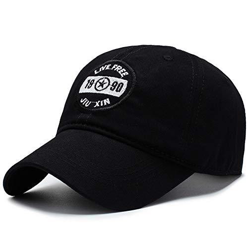 KFEK Frühling und Sommer Hüte Männer und Frauen Visier im Freien Freizeit Wilde Baseballmütze Paar Modelle Kappe D1 einstellbar -