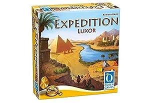 Queen Games 10382 Expedition Luxor - Juego de mesa, Multicolor