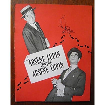 Dossier de presse de Arsène Lupin contre Arsène Lupin (1962) – 30x24cm 8 p - Film de Edouard Molinaro avec Brialy, J-P Cassel, F Dorléac– Photos N&B + résumé scénario – Bon état.