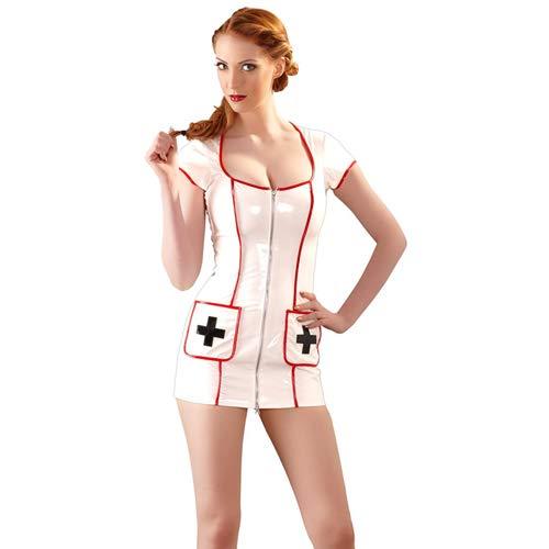 Black Level Vinyl Krankenschwester Kleid, klein